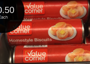 Value Corner Biscuits for $0.50 – No Coupons Required