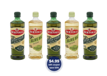 Bertolli Olive Oil 16.9 oz Just $4.99 With Coupon (Reg. $10.99)