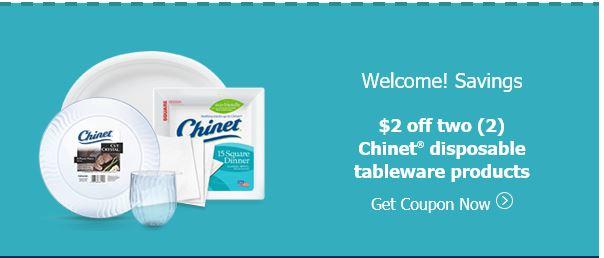 chinet coupon