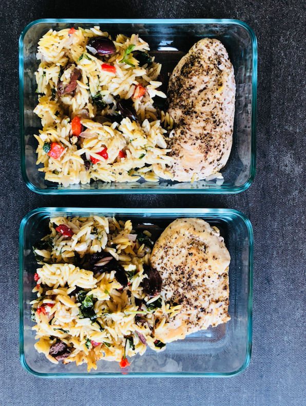 greek Skillet Chicken Meal Prep
