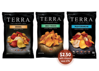 TERRA Chips Just $2.50 With New Sale and Coupon at Safeway