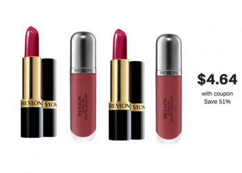 $2.00 off Revlon Coupon Plus 30% Off Sale = Cheap Revlon Lipstick and Gloss at Safeway