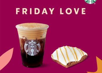 Starbucks Friday Love $5 Grande Beverage & Pastry at Safeway