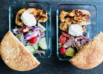 Greek Chicken Gyros Recipe With Tzaziki Sauce