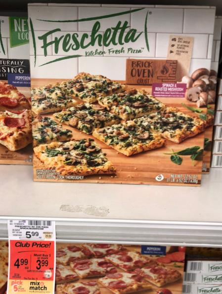 Freschetta Pizza