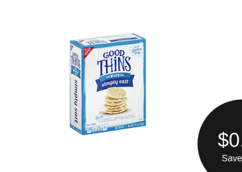 GOOD THiNS $0.77 & Other Nabisco Snack Crackers $1.27