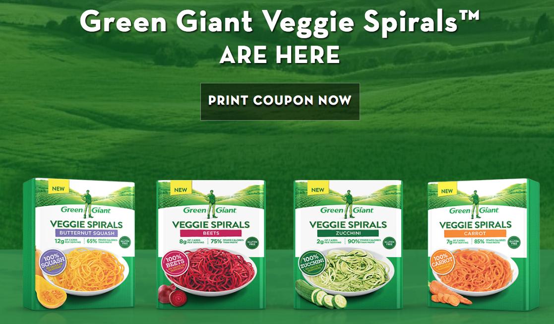 Green Giant Veggie Spirals Coupon