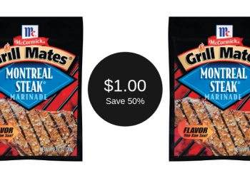 Grill Mates Marinade for $1.00 (Grab and Go)