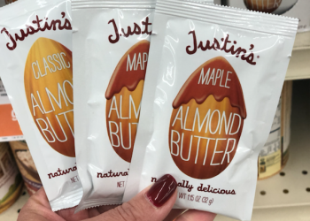 Justin's Nut Butter Squeeze Packs Coupons – Pay Just $.24 at Safeway