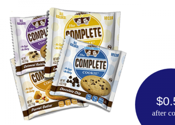 Lenny & Larry's Coupon – Only $0.50 for a Vegan Protein Cookie