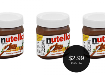 Nutella Hazelnut Spread = as Low as $2.99