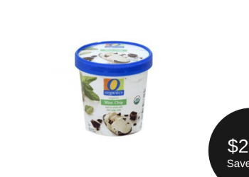 O Organics Ice Cream – Save 50% TODAY Only