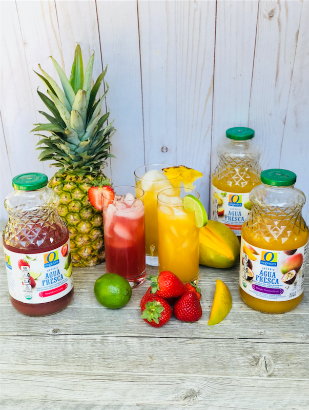 O Organics Agua Fresca – Strawberry, Mango and Passionfruit, Just $1.99 at Safeway