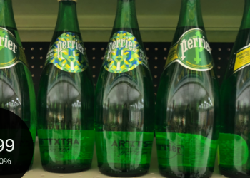 Perrier Water for $0.99 Each