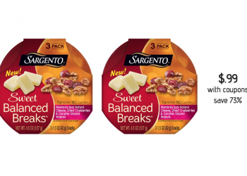 HOT Sargento Cheese Coupon Stacks – Pay just $.99 for Balanced Breaks, $1.74 for Cheese