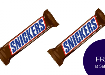 FREE Snickers Candy Bars (Up to 4)