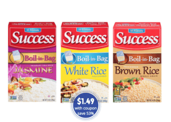 New Success Rice Coupon and Sale, Pay Just $1.49 at Safeway