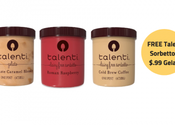 Talenti Catalina & Coupon Deal = Get 3 Talenti Sorbettos for FREE or Gelatos for $.99!