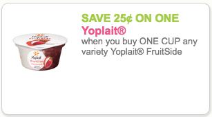 Yoplait FruitSide Coupon