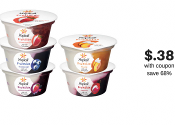 New Yoplait FruitSide Yogurt at Safeway – Try it for Just $.38 a Cup