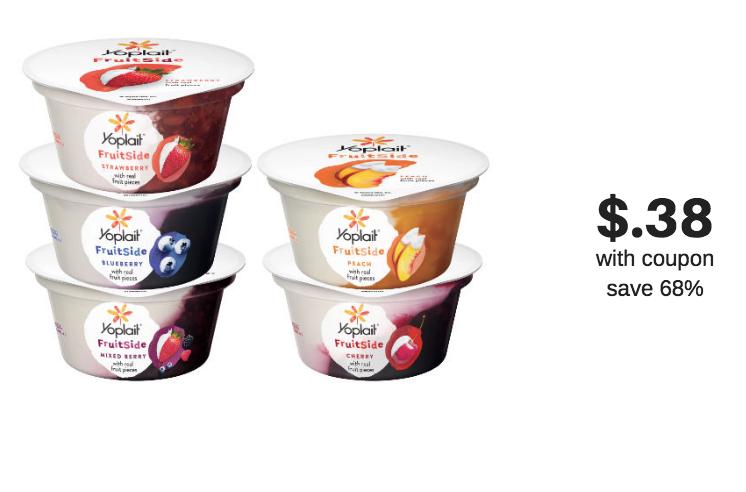 Yoplait FruitSide Yogurt Flavors