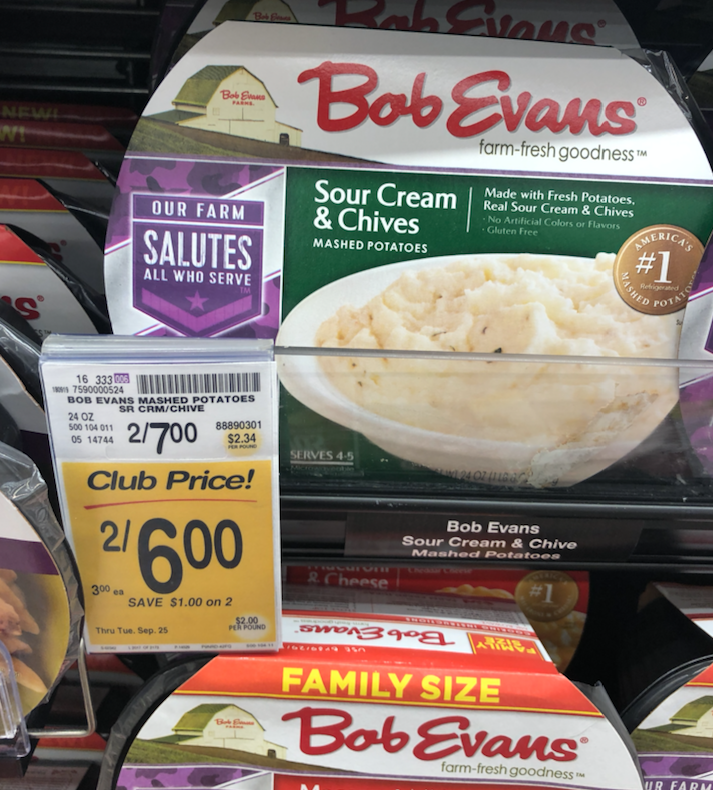 New Bob Evans Sale, and Catalina, Pay Just $1.42 Each (Reg ... Bob Evans Mashed Potatoes on shepherd's pie, bob evans smiley face potatoes, lyonnaise potatoes, frozen sweet potatoes, ham and scalloped potatoes, duchess potatoes, apple pie, seasoned potatoes, bob evans fries, bob evans potato, russet burbank, bob evans salads, bob evans waffles, frozen scalloped potatoes, bob evans cinnamon pancake recipe, potato bread, bob evans thanksgiving menu, bob evans to go thanksgiving, pumpkin pie, homemade scalloped potatoes, pecan pie, simply potatoes, olivier salad, bangers and mash, chocolate chip cookie, oven baked scalloped potatoes, potato salad, potato chip, apple sauce, bob evans fried potatoes, green bean casserole, chicken and potatoes, idahoan potatoes, baked potato,