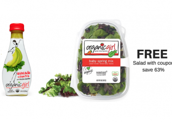 Free organicgirl Salad Mix and Cheap organicgirl Dressing at Safeway
