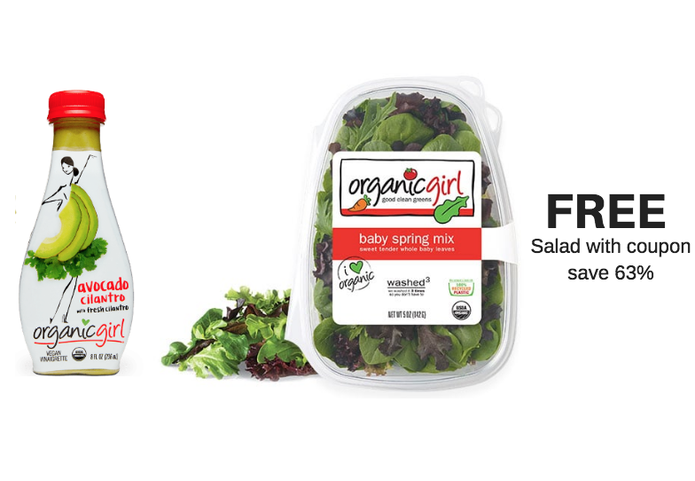 free organicgirl salad coupon at safeway