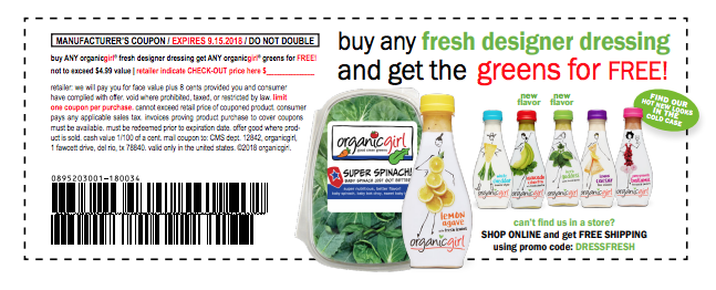 free organicgirl salad