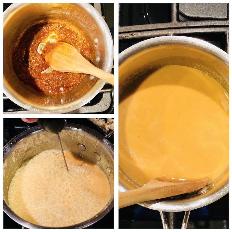 Easy Homemade Pumpkin Spice Latte Recipe (Healthy, Non