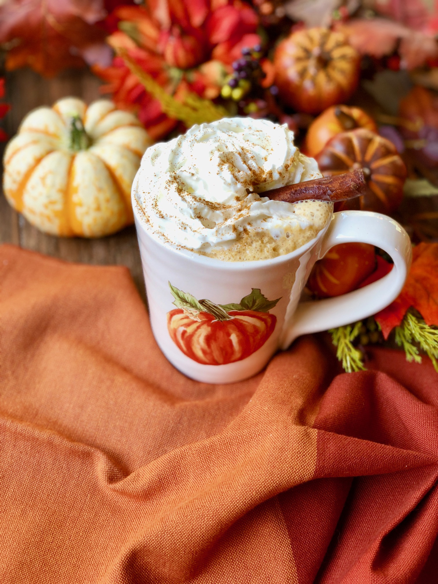 Easy Homemade Pumpkin Spice Latte Recipe (Healthy, Non-Dairy)
