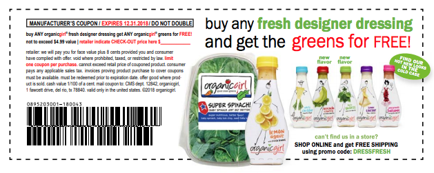 organicgirl salad coupon