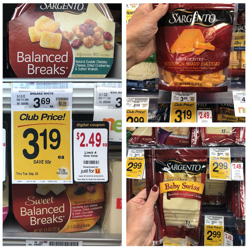 sargento cheese sales at safeway