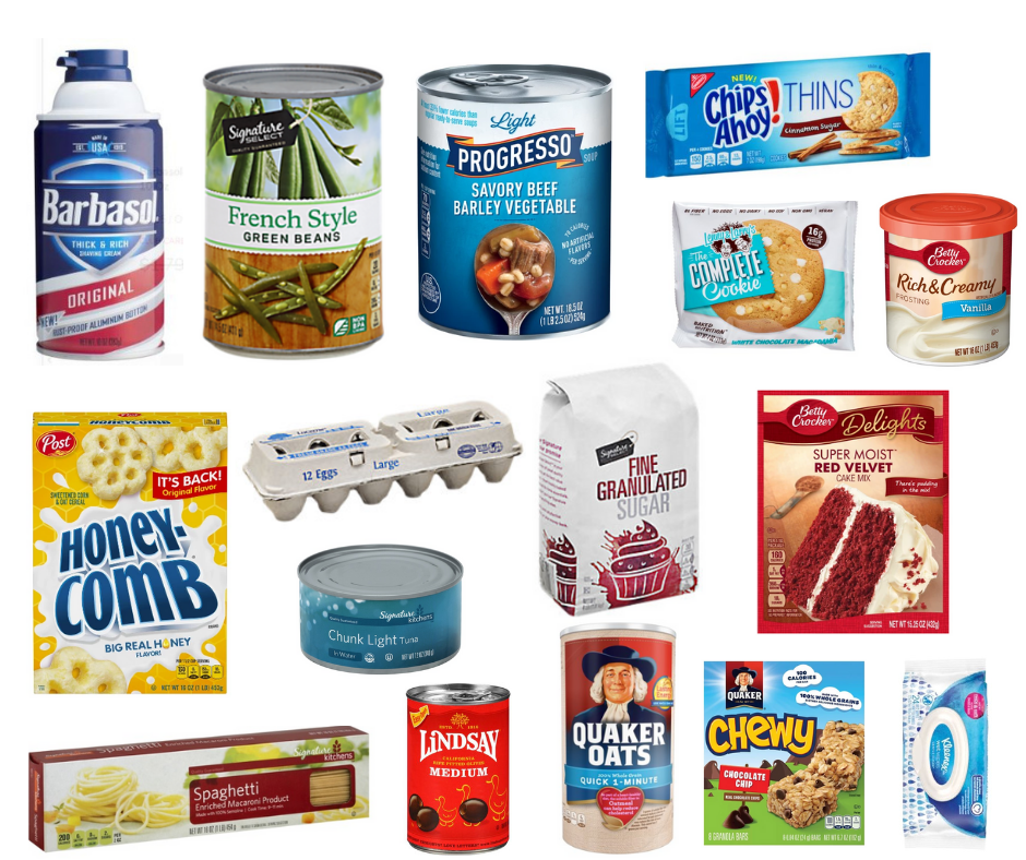 35 items $1.00 or less at Safeway