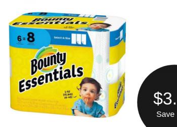 Bounty Paper Towel Coupon = $3.99