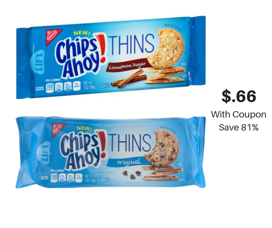 This is a picture of Stupendous Chips Ahoy Coupons Printable