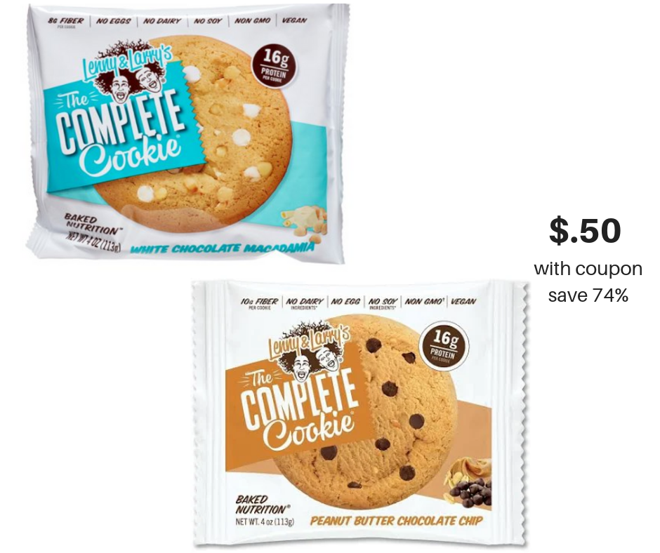 LENNY AND LARRY COOKIE COUPON