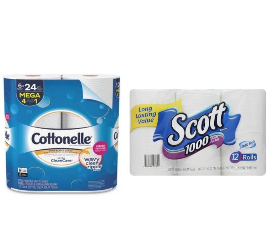Cottonelle Scott Sale safeway