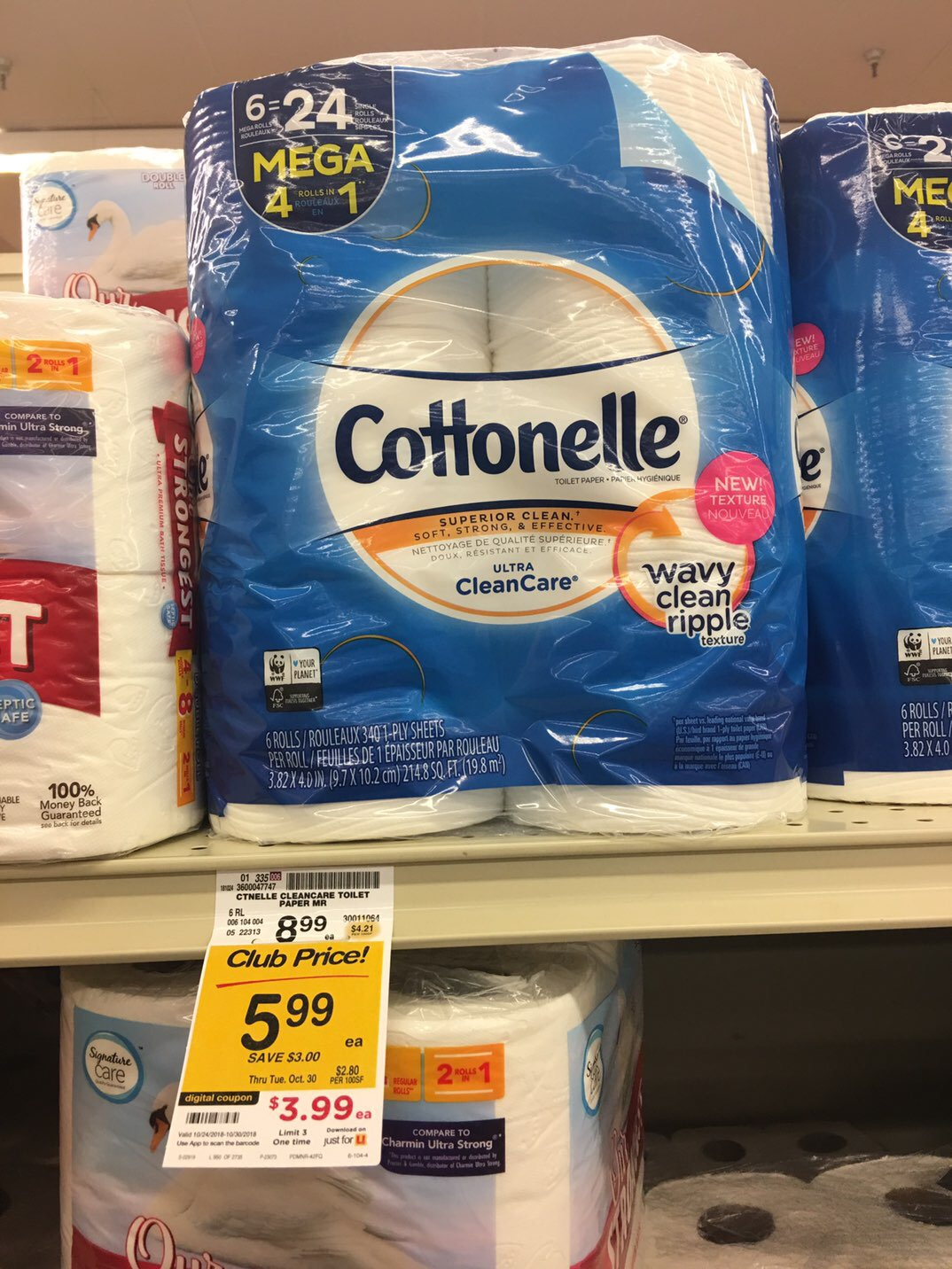 Cottonelle bath