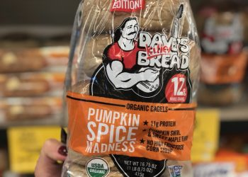 Dave's Killer Organic Pumpkin Spice Bagels Just $1.49 at Safeway (Reg $4.99)