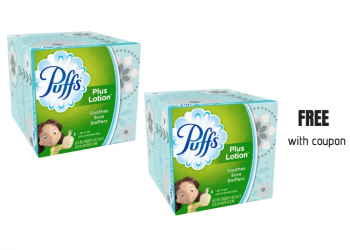 FREE Puffs Facial Tissues With Sale and Coupon at Safeway