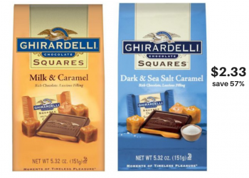 Ghiradelli Chocolate Buy 2 Get 1 Free, $2.33 Each