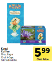 Kauai Coffee Coupon