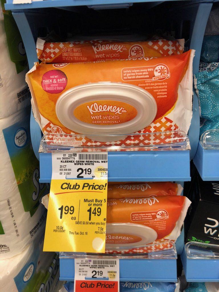 Kleenex Sale Safeway