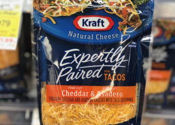 Kraft Expertly Paired Shredded Cheese Just $1.24 With Coupon at Safeway