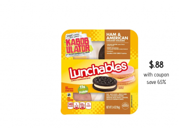 Lunchables Just $.88 With Coupon at Safeway