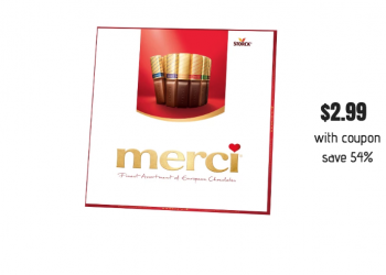 Get Merci European Chocolate Boxes for Just $2.99 Each With Coupon at Safeway (Reg. $6.49)