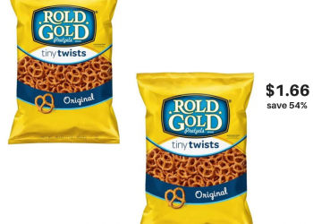 Lay's Products & Rold Gold Pretzels on Sale, Pay Just $1.66 each, Save 54%
