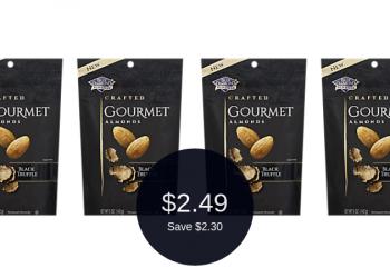 Blue Diamond Gourmet Almonds for $2.49