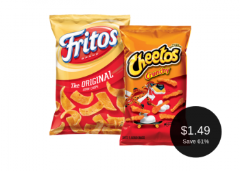 Cheetos & Fritos for $1.49 After Coupon